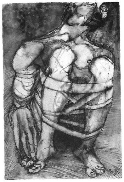 Elisabeth Frink, 'Bound Figure', 1971, Gillian Jason Gallery