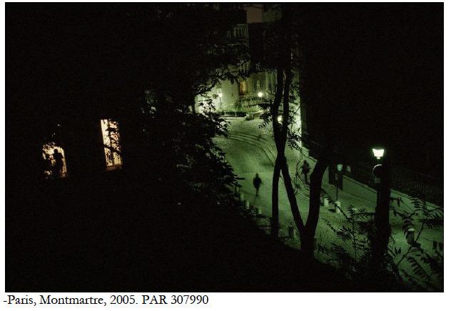 """, '""""Un jour, la nuit"""", Paris,' 2005, °CLAIR Galerie"""