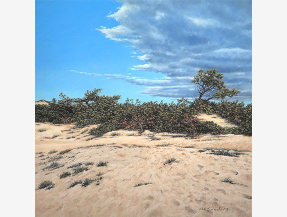 , 'Afternoon Clearing,' 2019, Addison Art Gallery