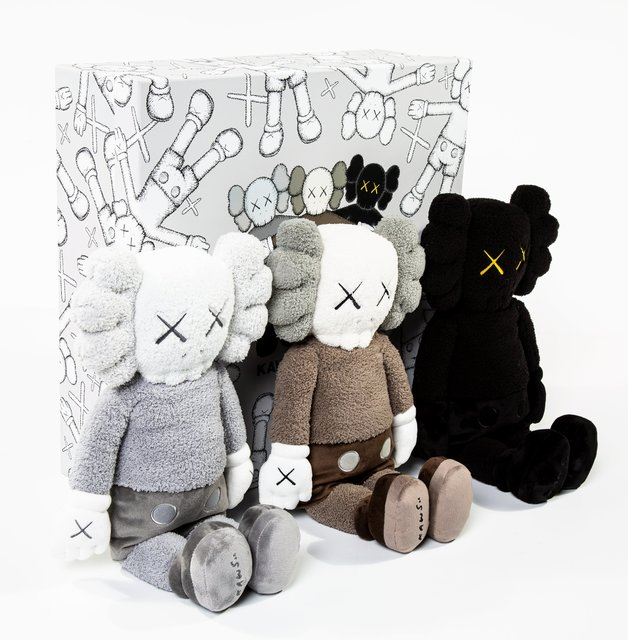 KAWS, 'Holiday Hong Kong Plush, set of three', 2019, Other, Polyester plush, Heritage Auctions