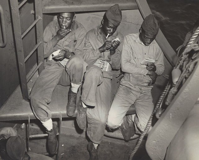 Anonymous, 'Three Black Marines (WWII US Navy), ', ca. 1940, Elizabeth Houston Gallery