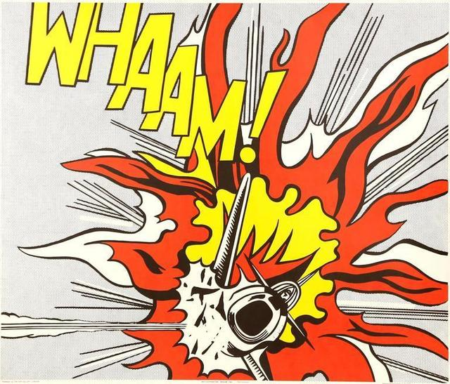 """Roy Lichtenstein, 'The Complete Diptych """"Whaam!"""" after Roy Lichtenstein', 1968, Galerie Philia"""