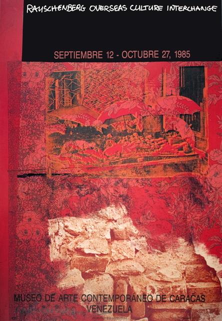 Robert Rauschenberg, 'ROCI: Venezuela', 1985, Ephemera or Merchandise, Offset Lithograph, ArtWise