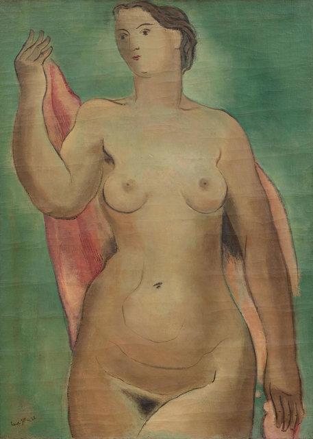 Ernst Geitlinger, 'Frauenakt', 1938, Painting, Oil on canvas, Koller Auctions