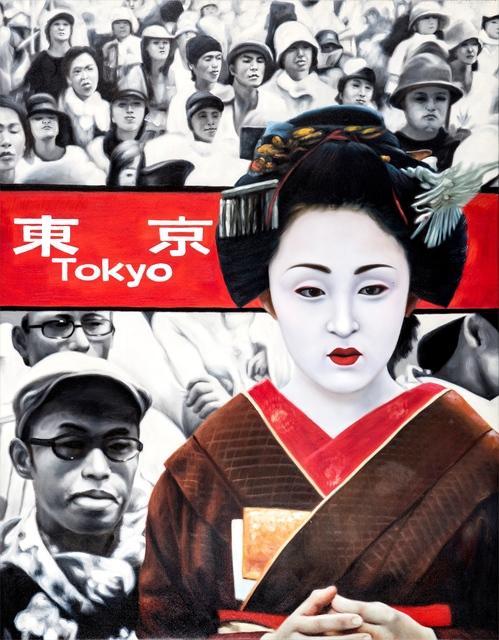 , 'red tokyo 2,' 2011, Galerie Jacob Paulett