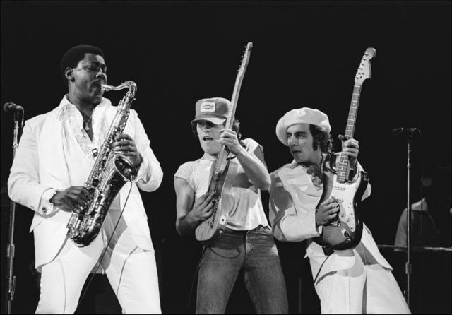 , 'Bruce Springsteen E Street Trio,' 1976, Madelyn Jordon Fine Art