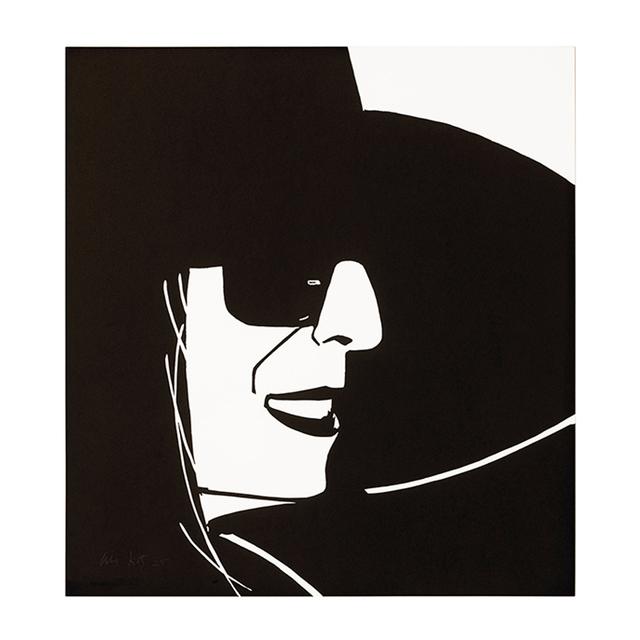 Alex Katz, 'Black Hat Ada', 2012, MLTPL