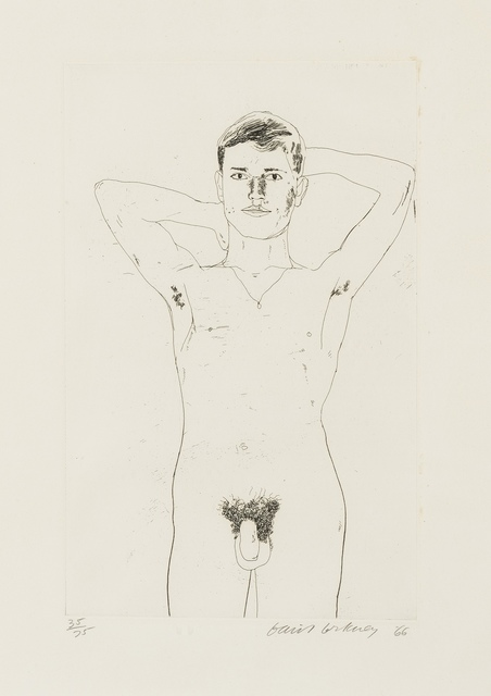 David Hockney, 'In and Old Book (Scottish Arts Council 52, Tokyo 52)', 1966, Forum Auctions