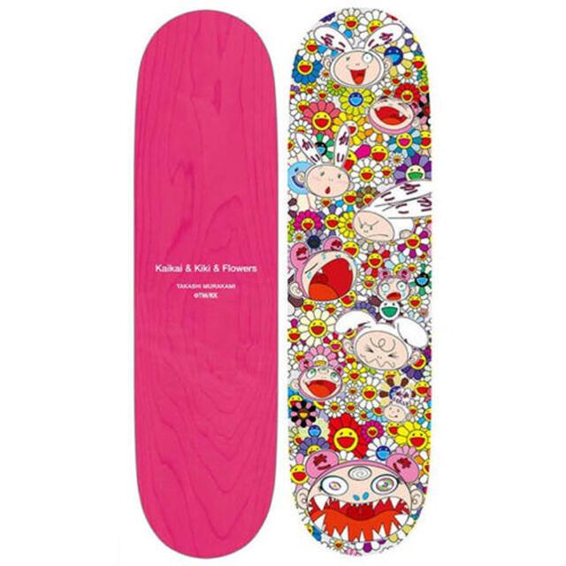 Takashi Murakami, 'Kaikai & Kiki All Over Skateboard', 2019, Print, Screenprint on wood, EHC Fine Art Gallery Auction