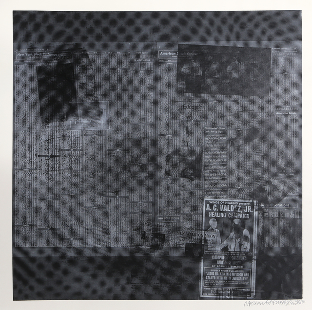 Robert Rauschenberg, 'Surfaces Series from Currents #51', 1970, RoGallery