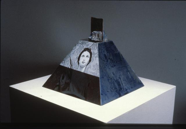 Robert Rauschenberg, 'Araucan Mastaba / ROCI CHILE', 1986, Academy Art Museum