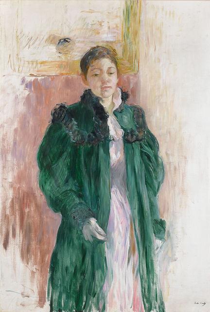 Berthe Morisot, 'Jeune Fille au Manteau Vert', 19th century,  M.S. Rau
