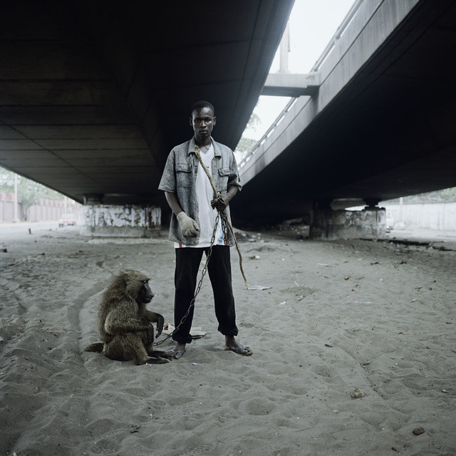 , 'Animal handler with Ajasco, Lagos, Nigeria,' 2005, galerie nichido / nca | nichido contemporary art
