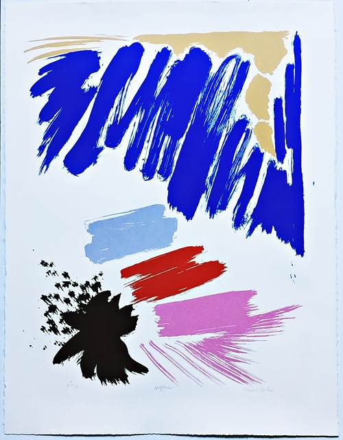 Friedel Dzubas, 'Night Star', 1984, Alpha 137 Gallery