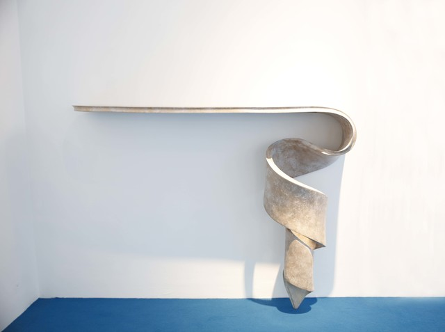 Sebastian Brajkovic, 'Console 'Shanty'', 2019, Design/Decorative Art, Patinated bronze, David Gill Gallery