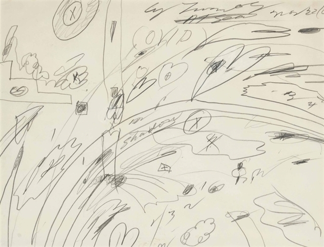Cy Twombly, 'Ovid At Sea', Christie's