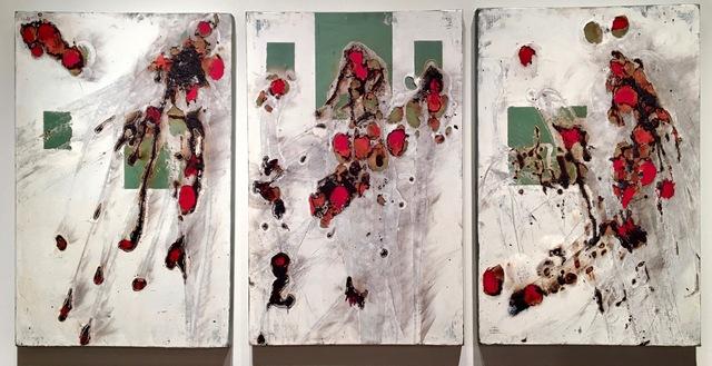 , 'Metropolitan Triptych,' 2015, Novado Gallery