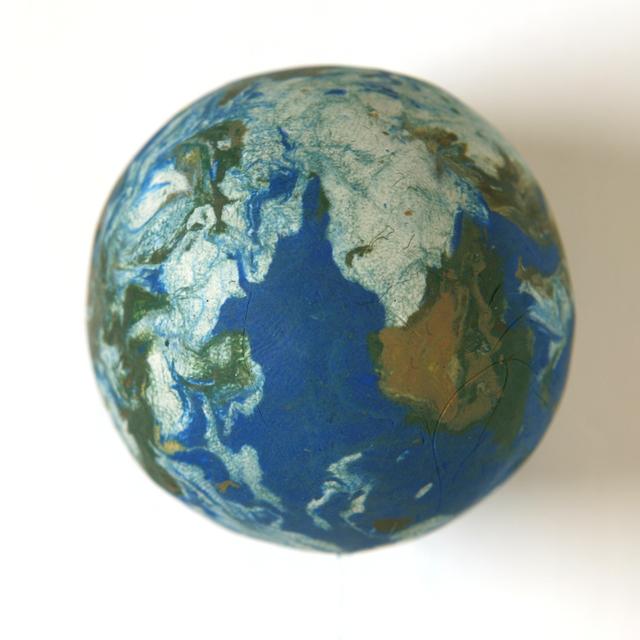 , 'Small World (1:212,500,000),' 2011, Galerie Krinzinger