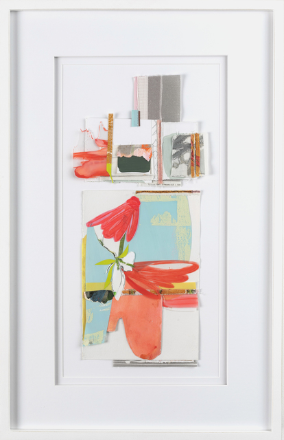 Teresa Roche, 'Playing Decorator - The Set Up', 2020, Drawing, Collage or other Work on Paper, Mixed media on paper, Miller Gallery Charleston