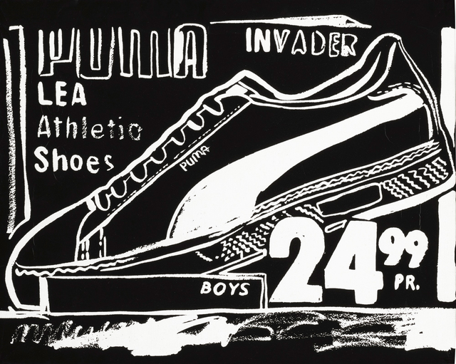 Andy Warhol, 'Puma Invaders (Negative)', 1985-1986, Sotheby's: Contemporary Art Day Auction