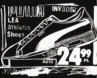 Andy Warhol, 'Puma Invaders (Negative),' 1985-1986, Sotheby's: Contemporary Art Day Auction