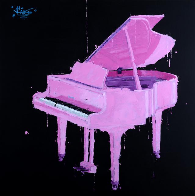 , 'Piano Rose,' 2018, Galerie Art Jingle