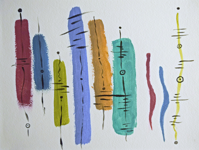 , 'The Fabric of Music,' 2017, Fountain House Gallery