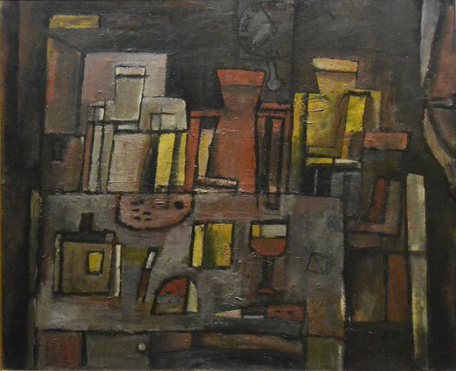 , 'Bodegón estructurado,' 1960, Galería de las Misiones