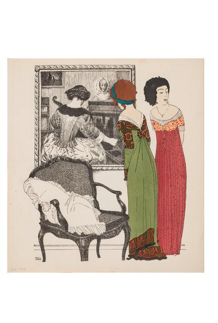 , 'Les robes de Paul Poiret racontées par Paul Iribe,' 1908, Les Arts Décoratifs
