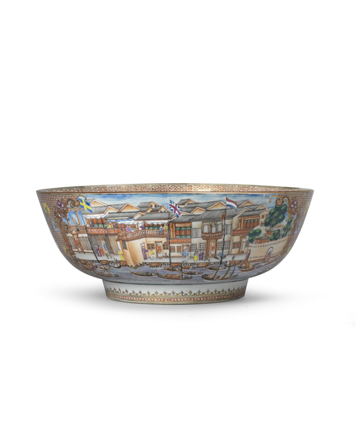, ''Hong' Punch Bowl,' 1736-1795, Jorge Welsh Works of Art