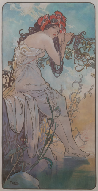 Alphonse Mucha, 'The Seasons  (a suite of four works)', 1896, Hindman