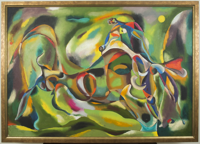 , 'Fighting Bull,' ca. 1940, Francis M. Naumann Fine Art