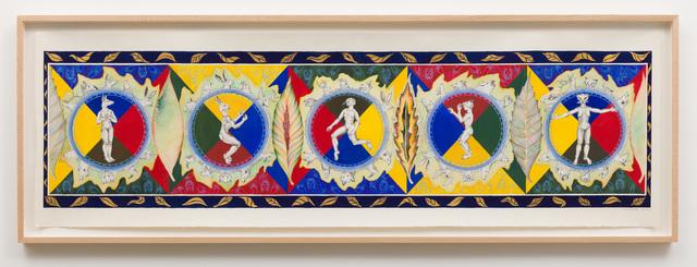 Faith Wilding, 'Leaf Scroll', 1985, Anat Ebgi