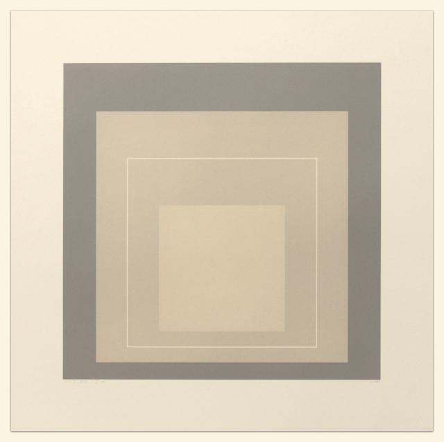 , 'White Line Squares (Series II), XIV,' 1966, Gregg Shienbaum Fine Art
