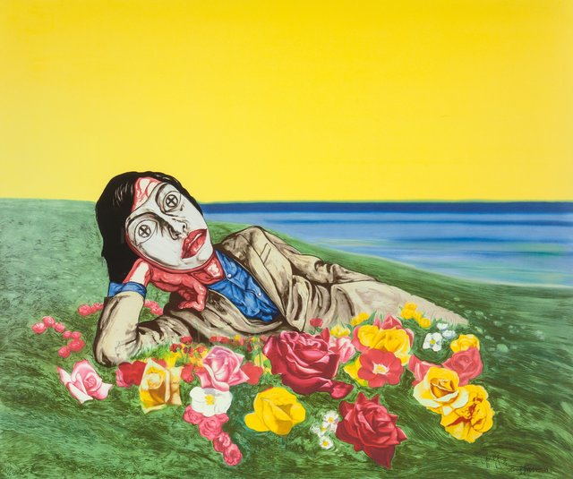 Zeng Fanzhi, 'Untitled (Reclining Figure)', 1998, Heritage Auctions