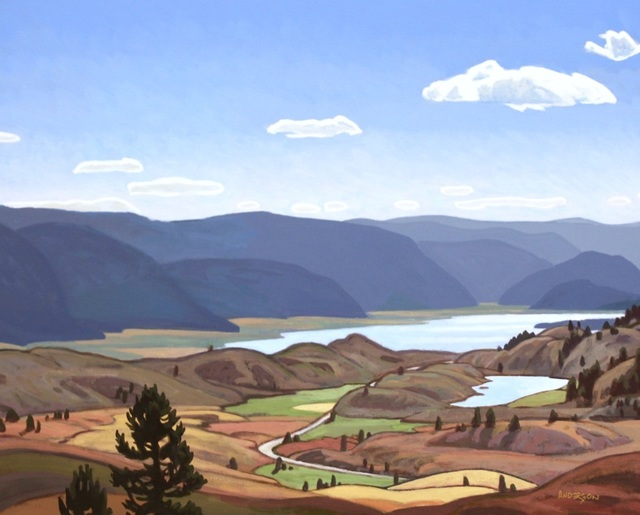 , 'Above Lake Osoyoos,' , Madrona Gallery