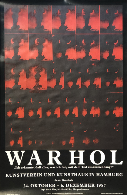 Andy Warhol, 'Atomic Bomb, Red Explosion', 1987, Woodward Gallery