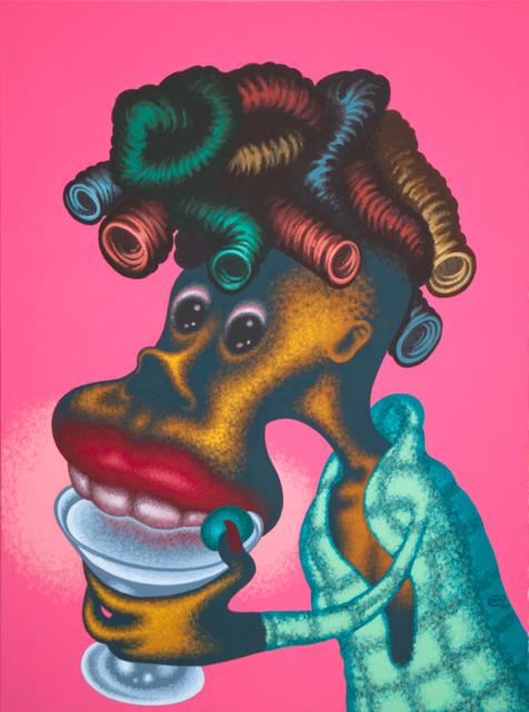, 'Woman Drinking Martini,' 2009, Gary Tatintsian Gallery