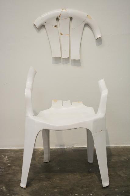 , 'el abrazo roto,' 2018, SGR Galería