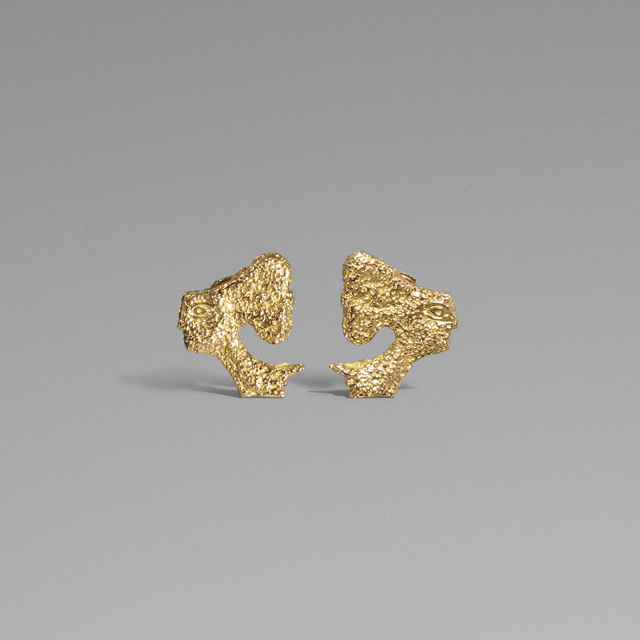 Georges Braque, 'Atalante earrings', 1962, Jewelry, 18 karat gold, Rago/Wright