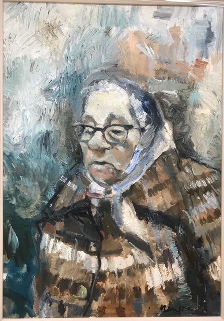 , 'Old Woman in Rain,' 2018, Barewall Art Gallery