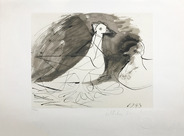 Pablo Picasso, 'PIGEONS', 1979-1982, Reproduction, LITHOGRAPH ON ARCHES PAPER, Gallery Art