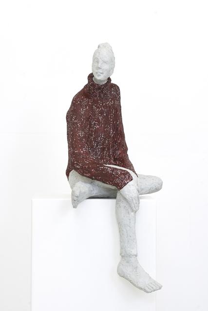 Tina Heuter, 'Mädchen mit Pulli', 2019, Sculpture, Beton, mianki.Gallery