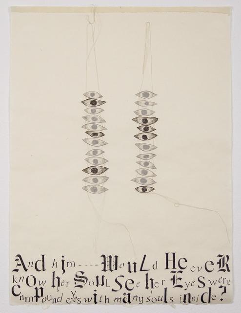 , 'Her Eyes,' 2013, Tamarind Institute