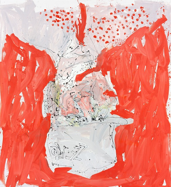 Georg Baselitz, 'Auch wirt lern helmt mich (Able fwill red),' 2013, Gagosian