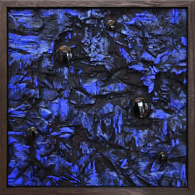 , 'Black Holes Above Blue into Dark,' 2018, Eclectica Galleries