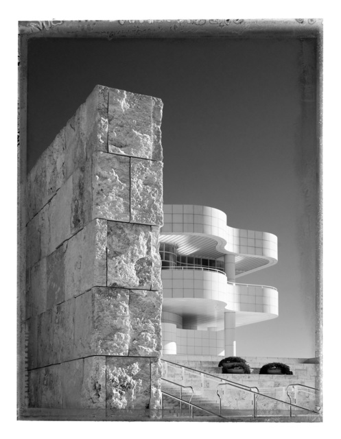 Christopher Thomas, 'Getty Center II', 2017, Photography, Pigment print on Aquarelle Arches paper, Galerie XII
