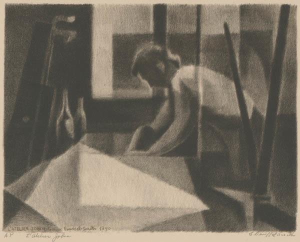 , 'Printer Jobin or L'Atelier Jobin,' 1970, Childs Gallery