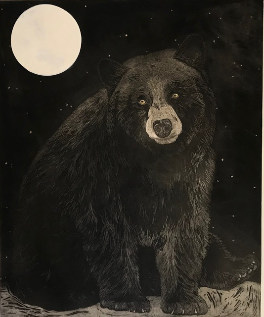 , 'Black Bear Moon,' 2018, MiXX projects + atelier