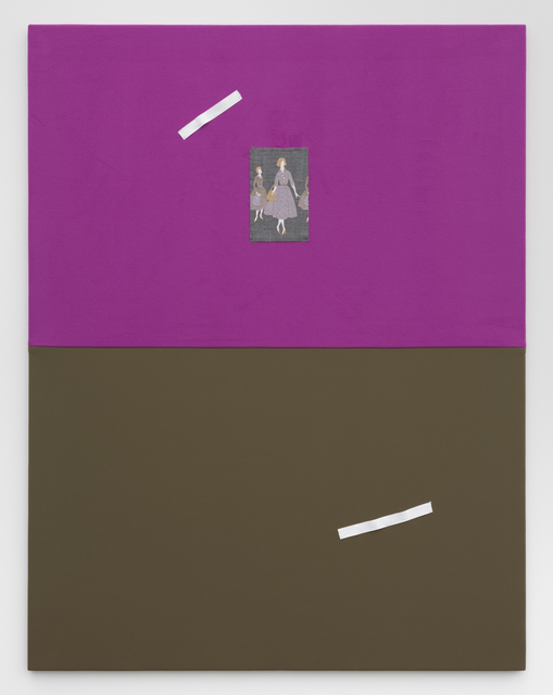 , 'Untitled (NFS31- Gray Dress on Purple Green Background),' 2018, VI, VII